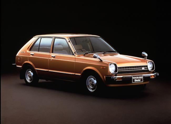 トヨタ自動車が1978年に発売したスターレットは、忘れられない一台である。2代目になるこのスターレットは、1.3リッターエンジンを縦置き搭載した後輪駆動。スペース効率やエネルギー伝達効率を重視する昨