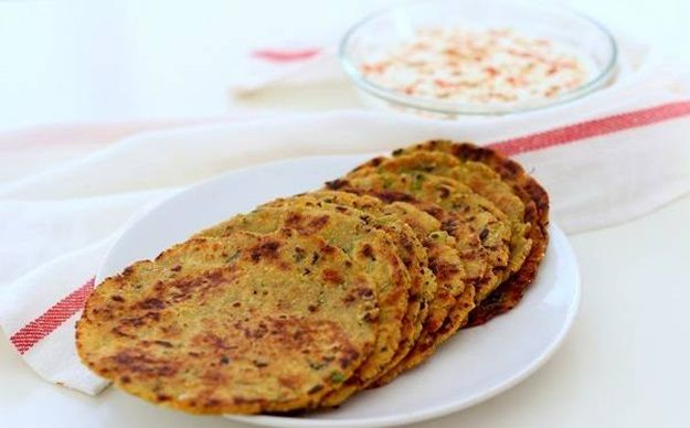 Parathas with Curd - North Indian food culture