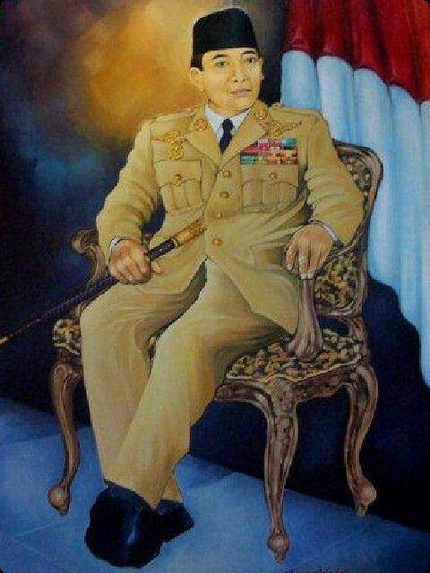 Lukisan Sukarno Private