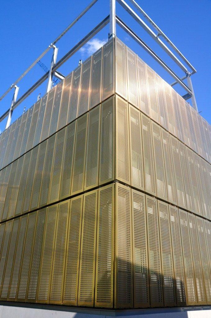 Rame composito per facciate di grandi dimensioni TECU® BOND - KME ITALY S.P.A. - ARCHITECTURAL SOLUTIONS