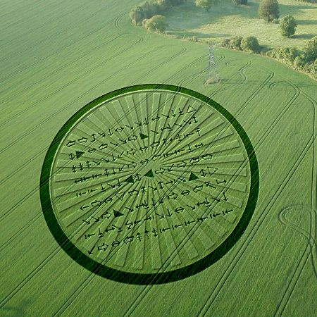 Crop circles   RNN has received word that dozens of identical crop circles have ...