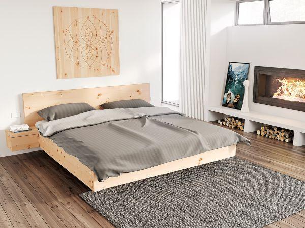 Zirbenholzbett Patrizia Massives Bett Aus Zirbenholz Bed