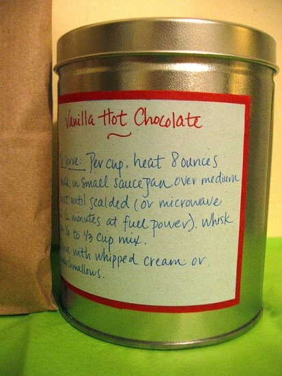 Vanilla Hot Chocolate Mix  If you have a food processor, then you have the ability to make this ultra-intense vanilla hot chocolate!