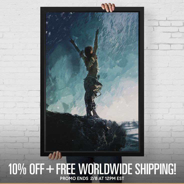 Starts now: 10% OFF my art shop + Free Shipping, wherever you are in the world!   ☞ https://www.curioos.com/galen/promo  #artist #art #decor #artprints