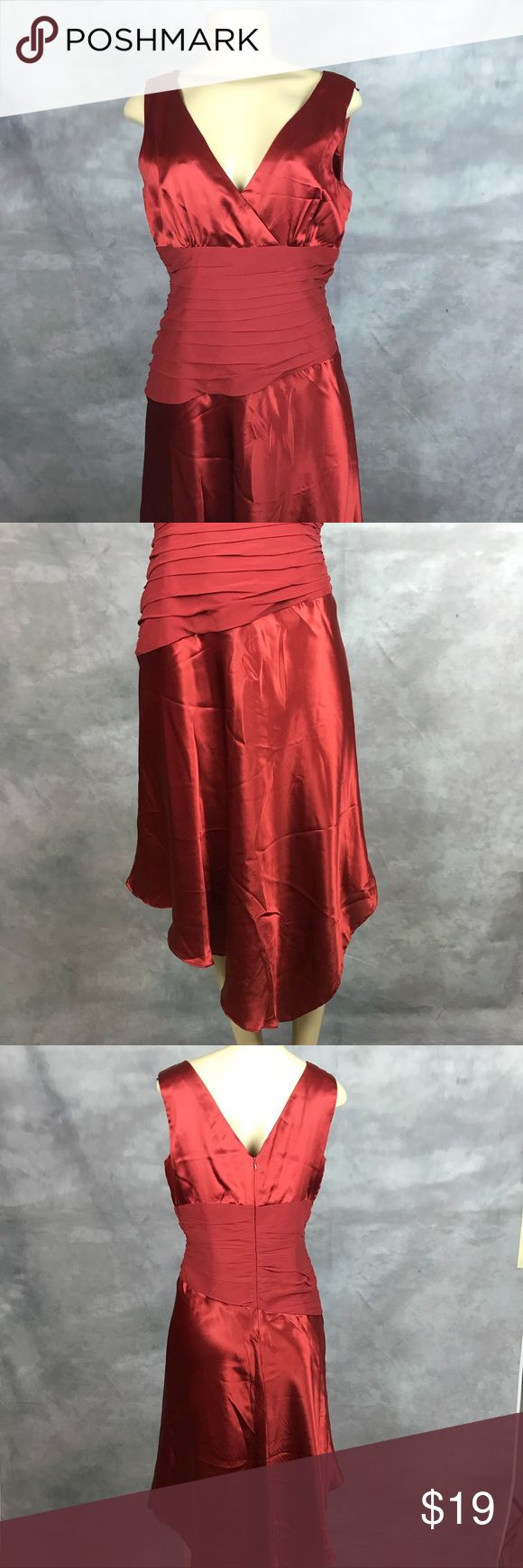 Donna Ricco Evening Dress Need to be dried cleaned cuz never did after wearing it has small wear near armpit See pic Donna Ricco Dresses Asymmetrical