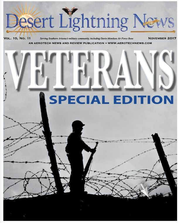 We have some special Veterans Day-themed features in this month's edition, along with your usual quota of Air Force/ Fighter Country news. For starters, flip straight through to our center spread on page 12 and meet retired Lt. Col. Richard Smith, a Vietnam-era POW who shares his story with us. ----  Business owners, call our office today to get your ad in the next edition! Your ad will appear in both the print and digital editions! Call 877 247 9288 (toll-free) today.