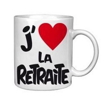 Vous allez aimer la retraite grâce à ce mug ! Une idée de cadeau sympa et utile pour un(e) jeune retraité(e).