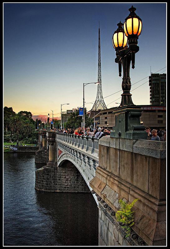 Princes Bridge, Melbourne, Australia Copyright: santo girotto