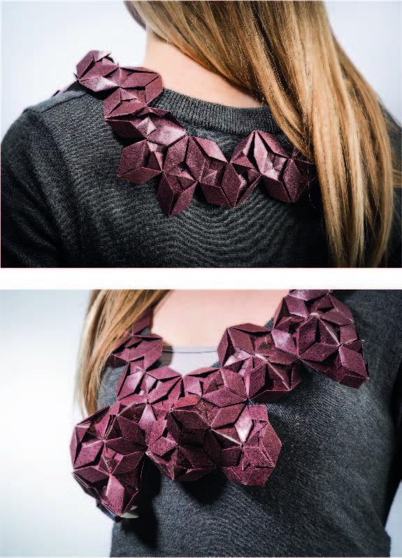 Paperchic Origami Necklace - Designer Cristel Isabel Marcon