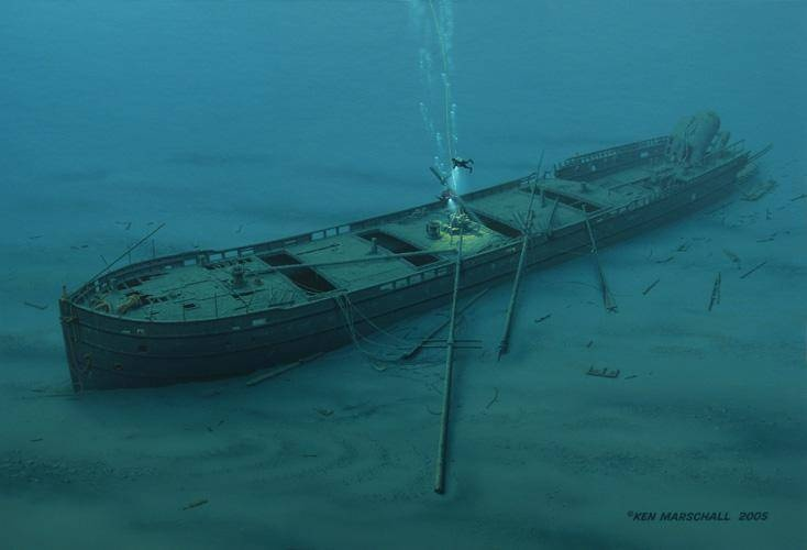 17 Best Images About Shipwrecked Or Sunken On Pinterest