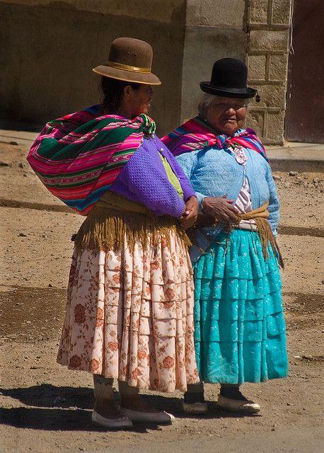 Aymara Women, El Alto, Bolivia
