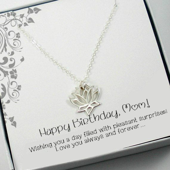 Birthday Gifts for Mom Mother Birthday by StarringYouJewelry #etsy