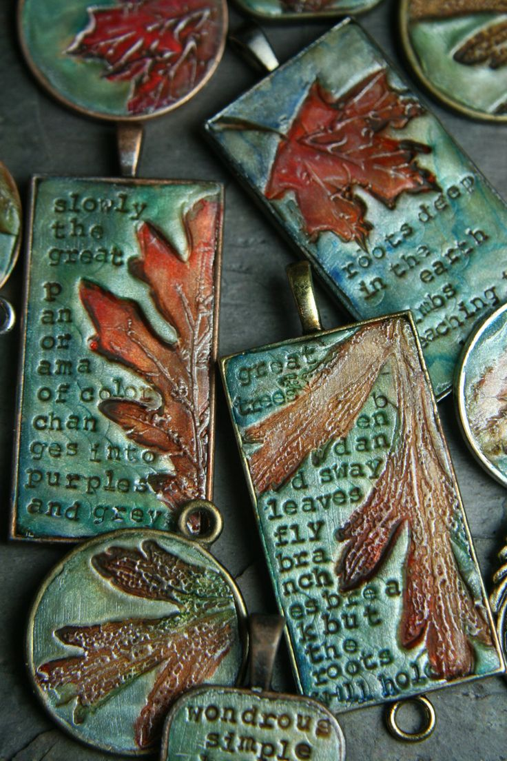 Leaf and alphabet pasta burn off in the kiln.