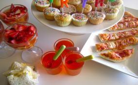 Eten voor een kinderverjaardag