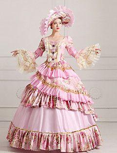 vendita steampunk®top alice vestito rosa vestito partito vittoriano wholesalelolita rococò principessa abiti da ballo