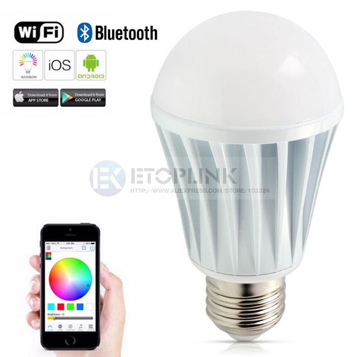 Find More Smart Illumination Information about E27 7W Bright RGB Wireless WiFi Smart Timing LED Light Bulb for Smart Phone Control 110 240V 5630 Lamp Wifi Control Led light,High Quality e27 20w,China e27 rgb led lamp Suppliers, Cheap e27 110v from Guangzhou Etoplink Co., Ltd on Aliexpress.com