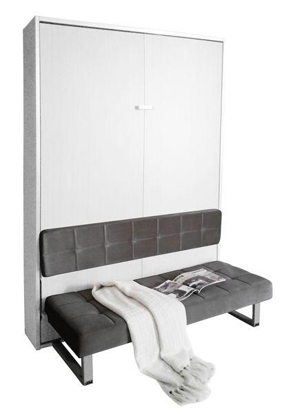 1000 id es sur le th me armoire lit escamotable sur - Canape lit petit espace ...