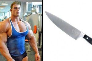 Russian Bodybuilder Abs