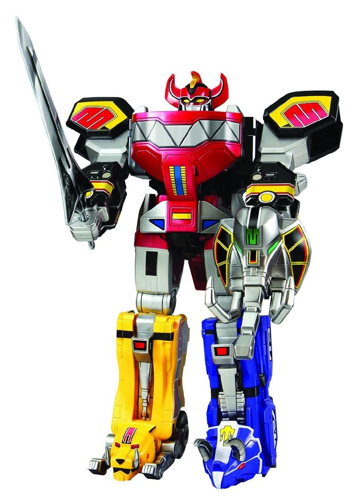 Power Rangers Legacy Megazord Action Figure Toy Power Ranger Toys Figures Zords