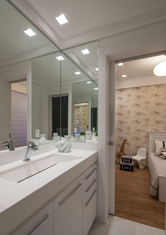 Demi suíte – veja modelos e dicas para ter quartos com banheiro com pouco espaço e gastando menos!
