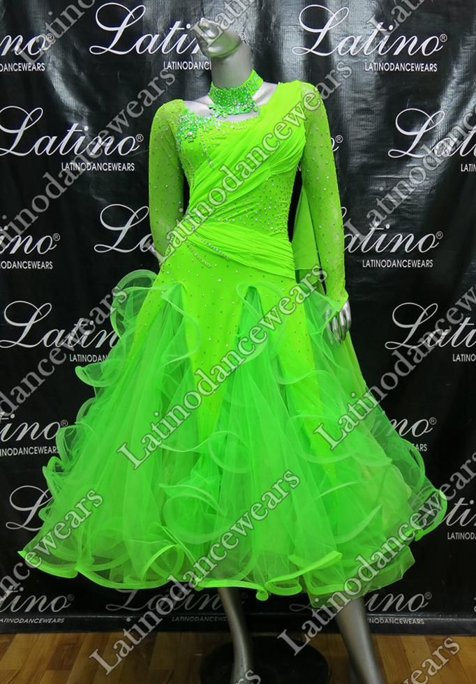BALLROOM COMPETITION DRESS LDW (ST242) BALLROOM-COMPETITION-DRESS-LDW-ST242 Latino Dancewears