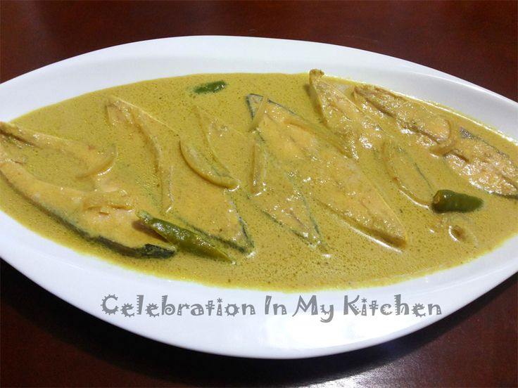 Celebration In My Kitchen: Caldinho De Peixe (Mild Fish Curry), Goan Recipes, Goan Food Recipes, Recipes In Goa, Goan Cuisine