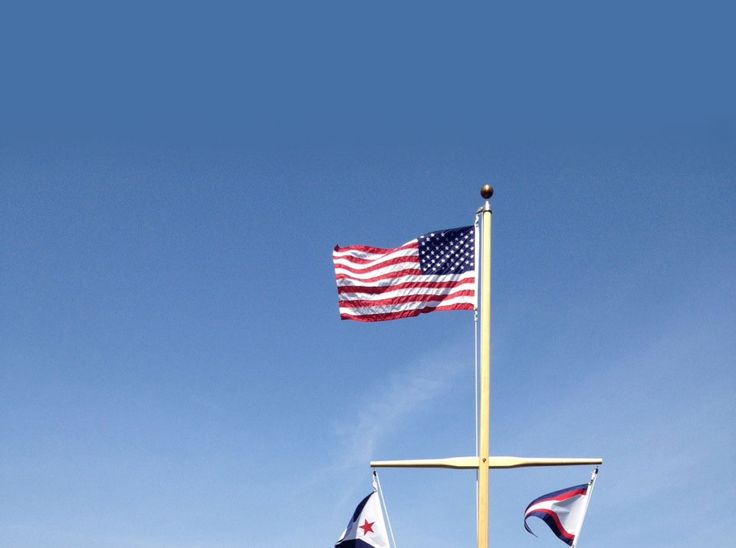 Handmade Wooden Flag Poles | Shaw and Tenney