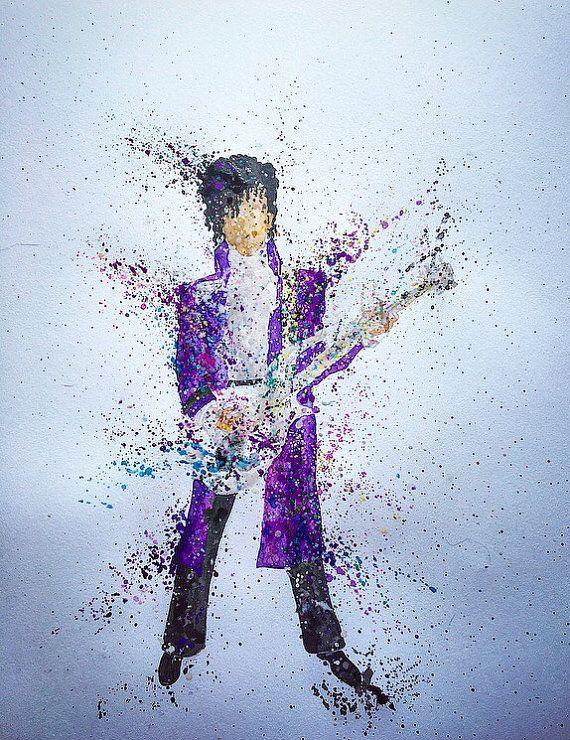 Prince Purple Rain by PhosphenePepper on Etsy