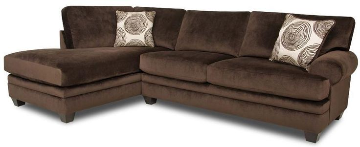 8642 Transitional Sectional Sofa by Albany