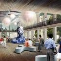Hotel Lobby- Art Gallery, brings in locals too! Tianjin Hotel Proposal (3) Courtesy of HAO (Holm Architecture Office)