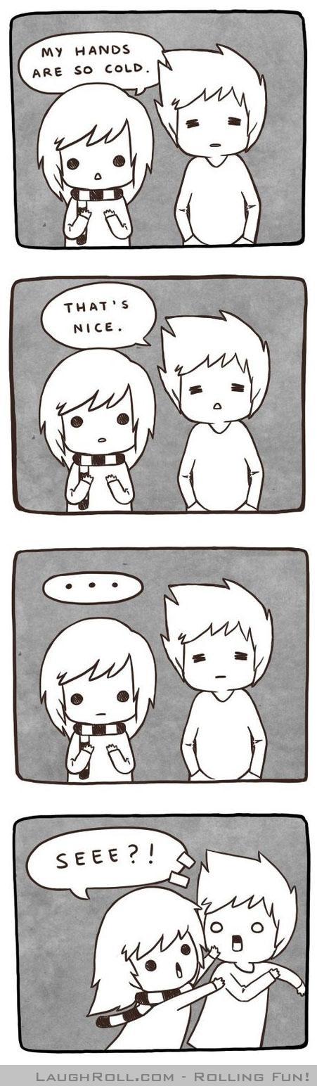 Hehe love the illustrations.