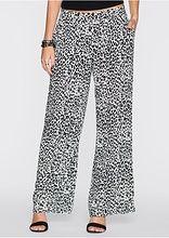 Un pantalon lejer, perfect pentru vacanţa de vară. Cu un croi cool larg. Se poate combina şi la ținute șic. Lungime interioară la măr. 42 de cca. 80 cm. Material superior: 100% vâscoză