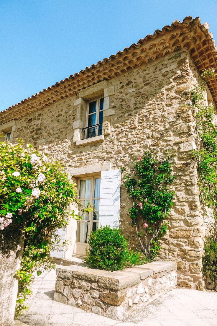 Alyssa Campanella of The A List blog visits La Verrière in Provence, France