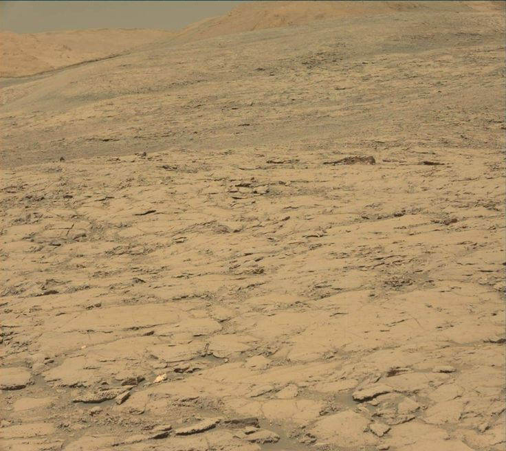 NASA's Mars rover Curiosity acquired this image using its Mast Camera (Mastcam) on Sol 1838