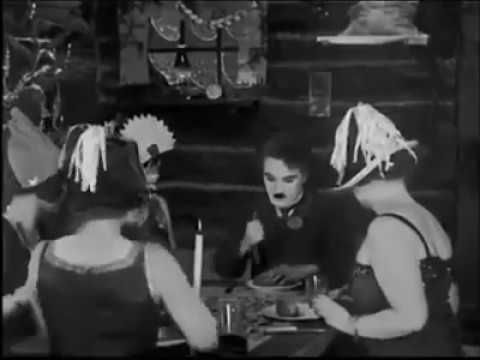Charlie Chaplin - The Gold Rush - Roll Dance