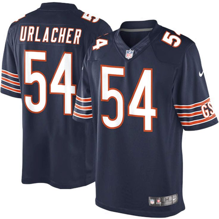 Brian Urlacher Chicago Bears Nike Team Color Limited Jersey - Navy Blue - $149.99