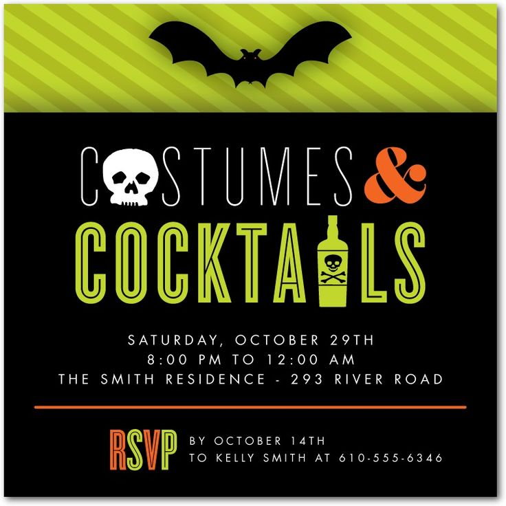 21 best Halloween Invitations images on Pinterest | Halloween ...