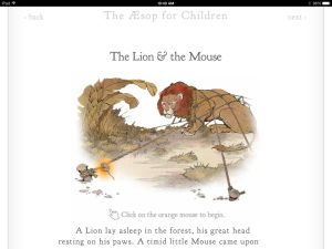 aesop's fables go mobile