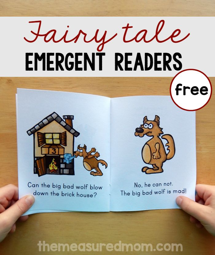 These free fairy tale books for kids are perfect for beginning readers!