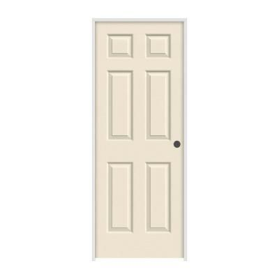 Jeld Wen 36 In X 80 In Colonist Primed Left Hand Smooth Solid Core Molded Composite Mdf Single