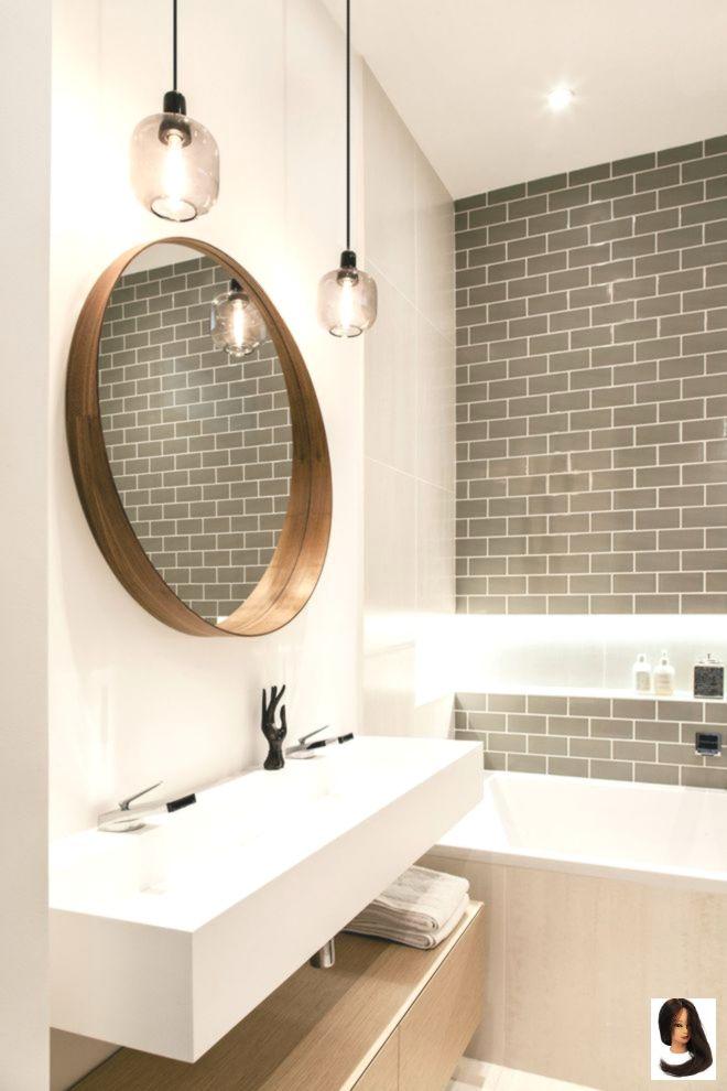 Badezimmer Best Home Decor Small Bathrooms Einem Holz Mit