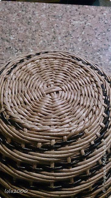 Поделка изделие Плетение последние плетенки 2014 года Трубочки бумажные фото 6