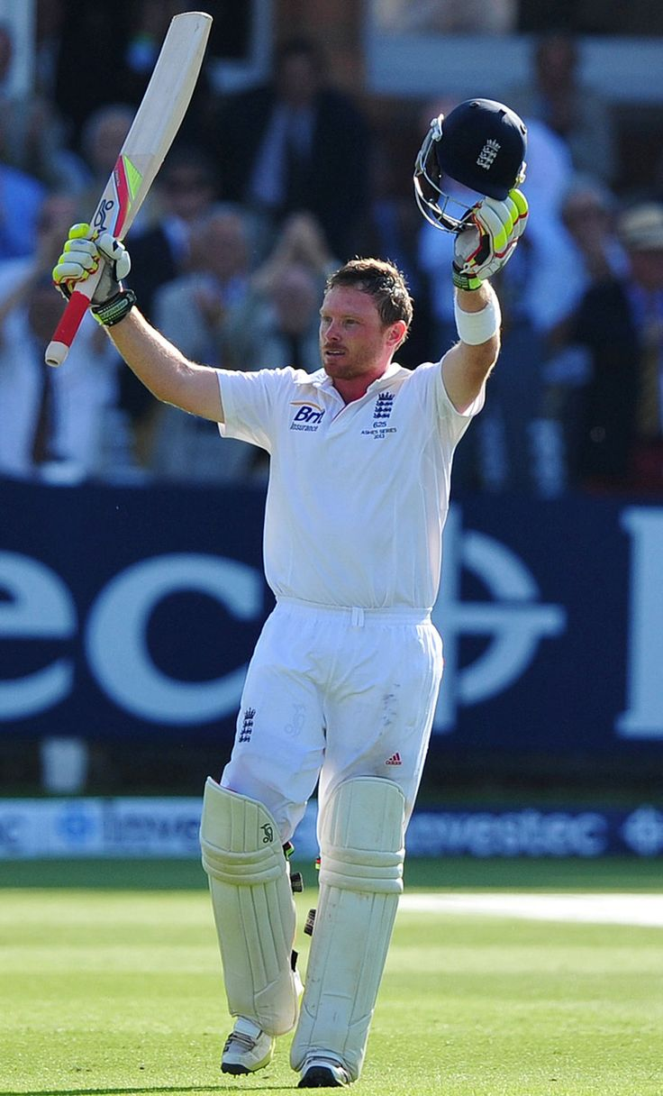 Ian Bell scored his third hundred in consecutive Ashes Tests, England v Australia, 2nd Investec Ashes Test, Lord's, 1st day, July 18, 2013