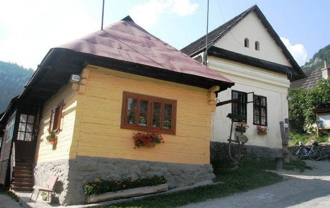 Vlkolínec | Ľudová architektúra | Ružomberok | Žilinský kraj | Najkrajšie miesta na Slovensku