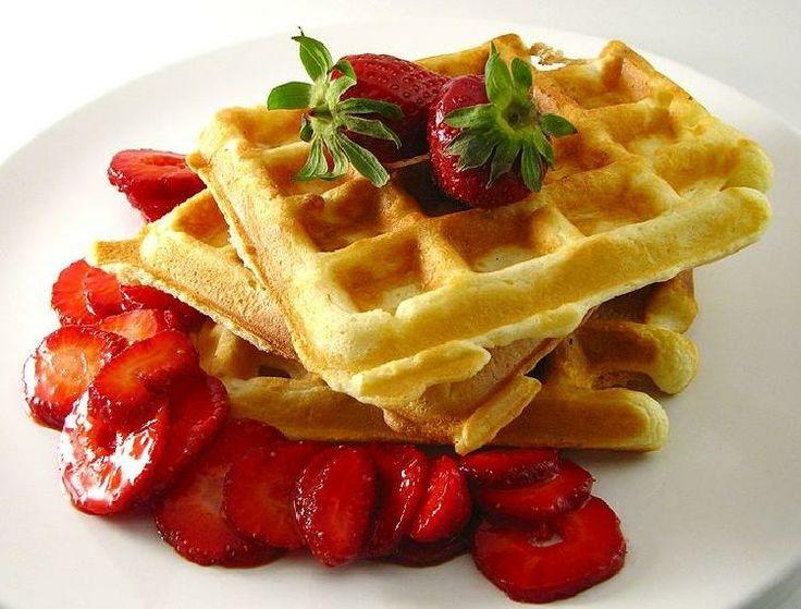 Receta de waffles (wafles)