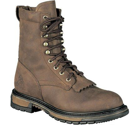 Rocky Boots Men's 8″ Ride Lacer 2724 Work Shoes « Clothing Impulse