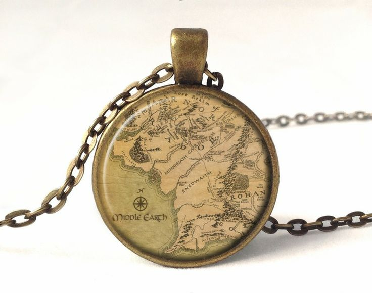 Lord of the rings Necklace, Lotr Pendant, 0184PB from EgginEgg by DaWanda.com