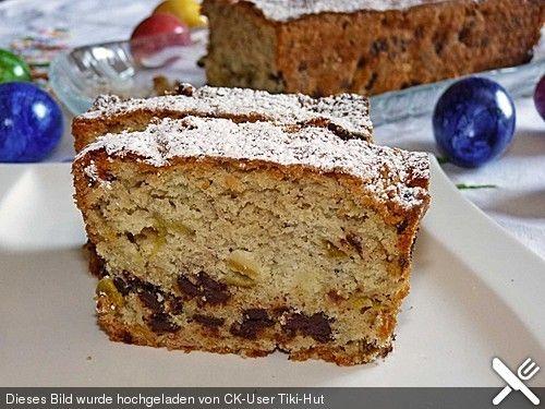 Saftiger Rhabarber - Schoko - Kuchen (Rezept mit Bild) | Chefkoch.de