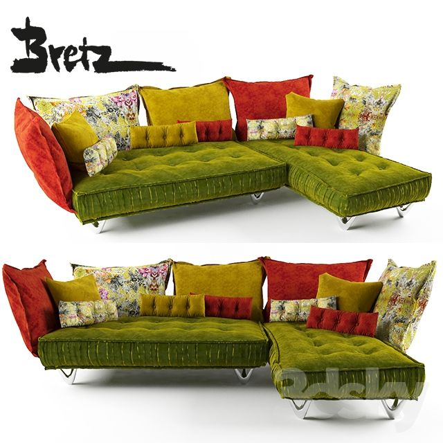 Bretz Ohlina Sofa With Images Comfortable Sofa Long Sofa Double Day Bed