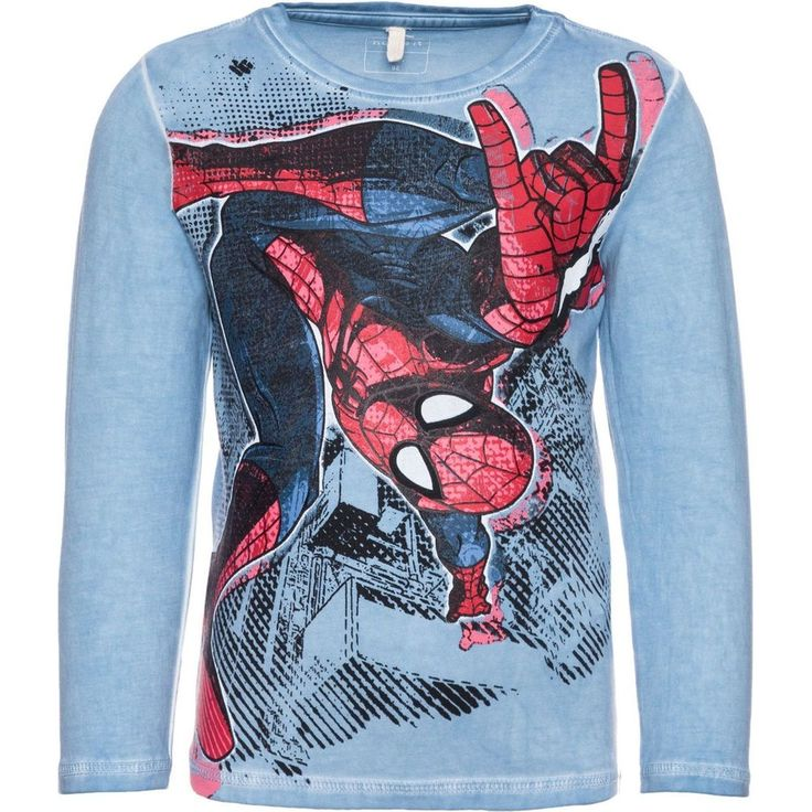 Name it Mini Nitspiderman Top Met Lange Mouwen